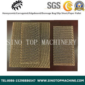 Paper Corrugated Cardboard Core as Door Material pictures & photos