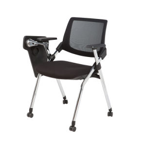 Modern Office Mesh Fabric Training Chair with Writing Pad (FS-2020) pictures & photos
