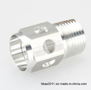 Aluminum Hex Threaded Part as Pneumatic Hydraulic Fitting pictures & photos