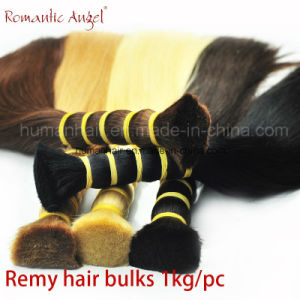 "Hair Material 100% Human Hair /Remy Hair Bulk / Length: 8""-30"" pictures & photos"