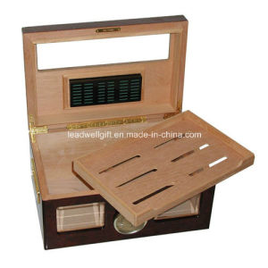 Glass-Top Display Humidor (100 Cigars) pictures & photos