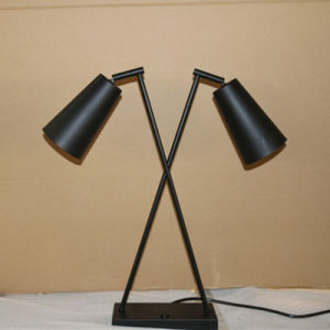 Decorative Matt Black Bedside Double LED Lighting pictures & photos