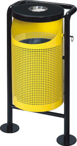 Punching Waste Bin for Outdoor (HW-51) pictures & photos