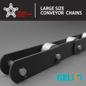 Customized OEM Cement Industrial Conveyor Chain Alloy Steel with Attachments pictures & photos