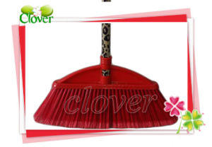 Manufacturer Plastic Hand Push Floor Sweeper Broom pictures & photos