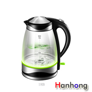 Glass Electric Tea Kettle 1.7L Glass Water Kettle