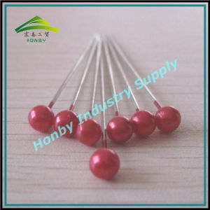 55mm Fashion Round Plastic Pearl Head Pins for Hijab Decoration pictures & photos