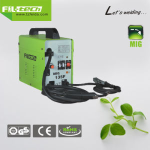 No Gas Design Flux Transformer MIG Welder with Ce Certificate (MIG-125F/135F/155F) pictures & photos