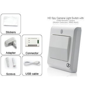 GSM Remote Camera in Power Switch Wireless MMS Alarm for Home Security pictures & photos