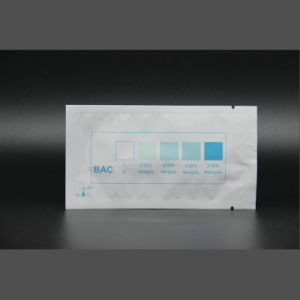 Alcohol Testing Kits/Alcohol Test Strips/ Alcohol Test Kit/Alcohol Testing Strip/Cassette/Dipcard pictures & photos