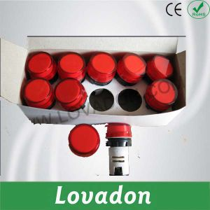 Red Ad22 Series Pushbutton Switch pictures & photos