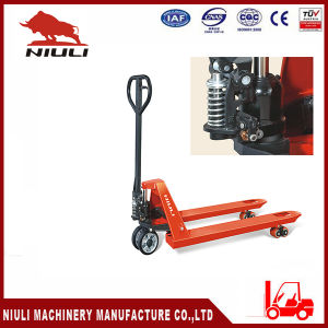 Niuli Df Hydraulic Hand Pallet Truck with Ce pictures & photos