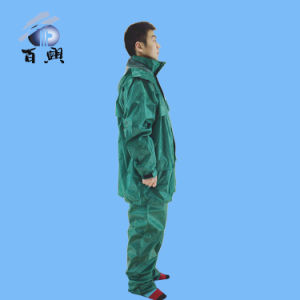 Polyester Overall Waterproof Outdoor Rainsuit for Adult pictures & photos