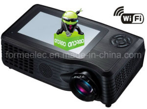 "5""LCD Home Entertainment Projector with WiFi Android4.0 pictures & photos"