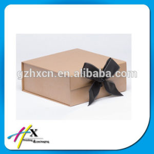Recyclable Brown Kraft Paper Packing Box pictures & photos