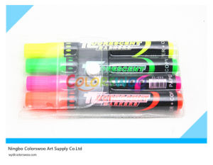 4PCS Hot Selling Highlighter Marker Pen for School and Office pictures & photos