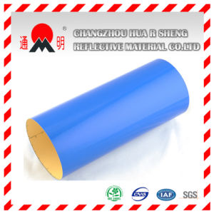 Blue Engineering Grade Reflective Sheeting for Road Traffic Signs Guiding Signs pictures & photos