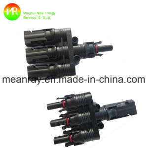 Mc4 Solar Panel Connector (1 in 3) for Solar Panel pictures & photos