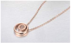 Fashion Jewelry Stainless Steel Jewelry Necklace Pendant Female Necklace (hdx1019) pictures & photos