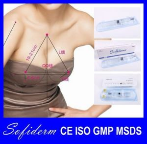 Sofiderm Hyaluronic Acid Injectable Dermal Filler for Breast Enhancer Derm Plus 10ml pictures & photos