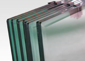 Flat Blue Tempered Furniture Glass for Building From China Manufacturer