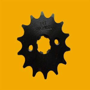 China Manufacturer Durable Motorcycle Sprocket for Motor pictures & photos
