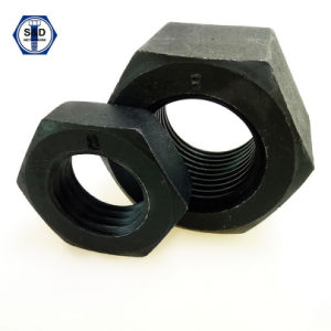 DIN934 Hex Nuts Class8 Black Finish&H. D. G pictures & photos