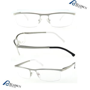 Semi Rimless Stainless Steel Sport Optical Eyeglass (OM134194) pictures & photos