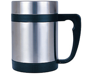 Stainless Steel Double Wall Mug with Handle Sdc-480c pictures & photos