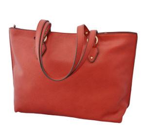 Hot Sell Ladies Fashionable Tote Handbags (950390C)