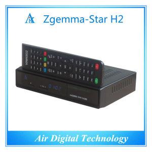 Italy TV Decoder DVB T DVB T2 + DVB S2 Zgemma-Star H2 pictures & photos