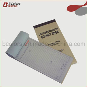 Custom NCR Sales Receipt Books of Payment & Restaurant Bills