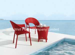 Wicker Furniture Suppier/Cheap Rattan Chair/Cheap Rattan Table pictures & photos