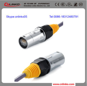 RJ45 Data Connector /Ethercon Connector with Cable for LED Display Screen pictures & photos