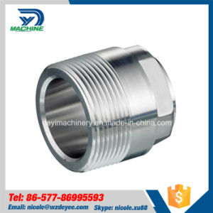 Sanitary Stainless Steel NPT Male Clamp Adapter pictures & photos