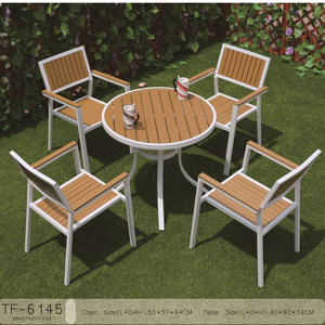 Leisure Ways Wooden Garden Furniture Patio Dining Table 5PCS Set pictures & photos