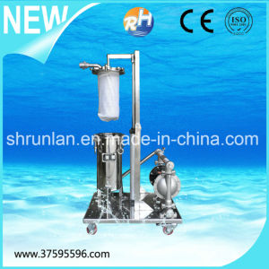 Stainless Steel Movable Two Stage Liquid Bag Filter pictures & photos