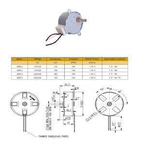 2-600rpm Low Speed Stepping Motor for Electronic Instrument pictures & photos