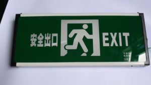 Fire Fighting Exit Light pictures & photos