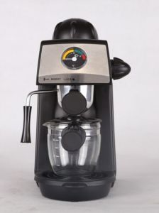 New Design 4 Cups Steam Espresso Coffee Maker pictures & photos