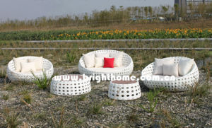 Bubble Weaving PE Rattan Wicker Outdoor Furniture Bg-807 pictures & photos