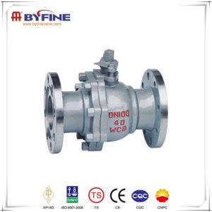 Forged Flange Connection Trunnion Mounted Ball Valve pictures & photos