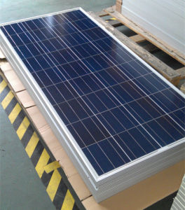 1640*980*40mm Size and Polycrystalline Silicon, Polycrystalline Silicon Material 24V 150W Solar Panel pictures & photos