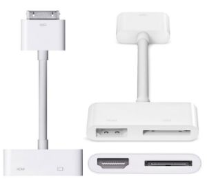 30 Pin for Apple iPad/ iPhone Digital AV Adapter pictures & photos