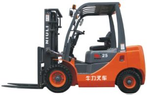 Gasoline/ LPG Double Use Forklift with Best Quality pictures & photos