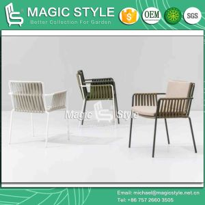 Tape Chair Patio Dining Chair New Design Garden Furniture Stackable Chair Aluminum Chair (Magic Style) pictures & photos
