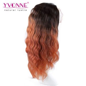 Fashion Body Wave Ombre Brazilian Full Lace Wig pictures & photos