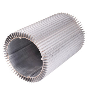 Extruded Aluminum Heatsink Which Shape Is Round for Radiator pictures & photos