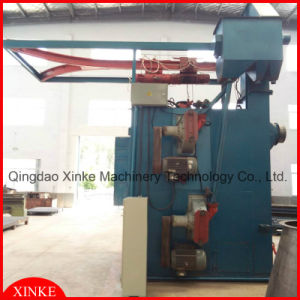 Double Hanger Sand Shot Blasting Machine pictures & photos