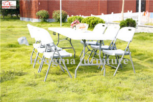 6ft Folding Table and Chairs for Outdoor Use